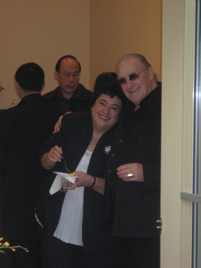Becky Herrmann and Lee Matheson